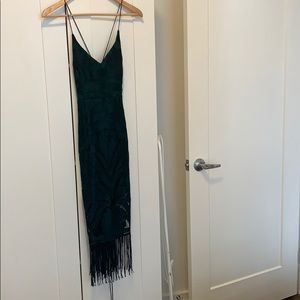 Twosisters Fringe Dress
